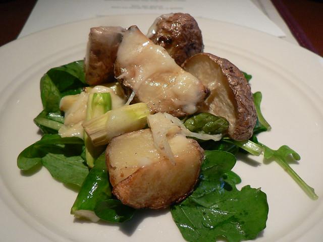 warm arugula salad | Flickr - Photo Sharing!