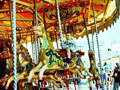 water park(0.0), park(0.0), recreation(1.0), outdoor recreation(1.0), leisure(1.0), fair(1.0), carousel(1.0), amusement ride(1.0), amusement park(1.0),