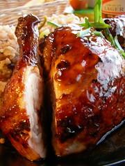 pork(0.0), grilling(0.0), hendl(0.0), meal(1.0), glaze(1.0), roasting(1.0), meat(1.0), tandoori chicken(1.0), food(1.0), dish(1.0), roast goose(1.0), cuisine(1.0),