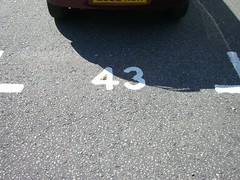 parking space 43