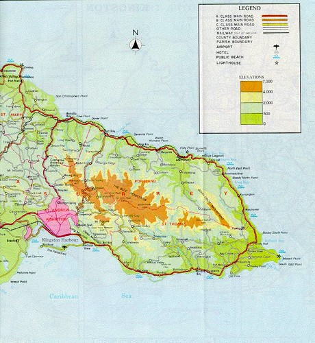 map of eastern jamaica by Edu-Tourist