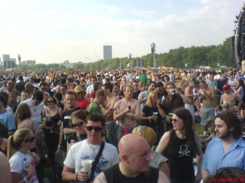 People Behind Us at Hyde Park London