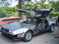 automobile, vehicle, performance car, delorean dmc-12, classic car, land vehicle, coupã©, supercar, sports car,
