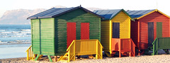 Huts @ Muizenburg, South Africa