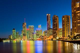Brisbane River Reflections-01+