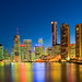 Brisbane River Reflections-01+ by Sheba_Also