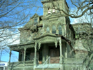Old house in Palatine Bridge, NY