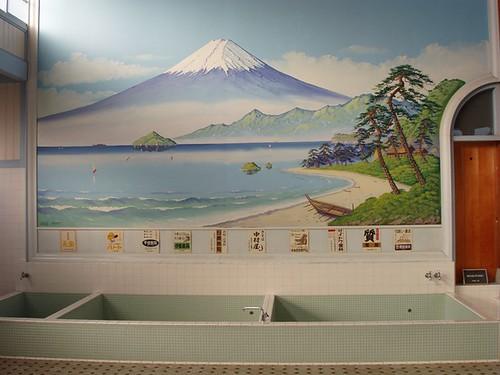 fuji-san on sento (public bath) wall