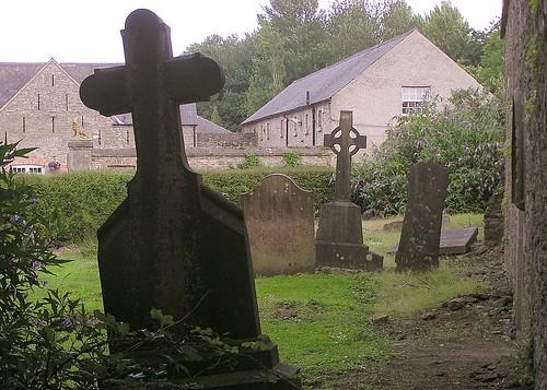 Ruined Irish Church Graveyard