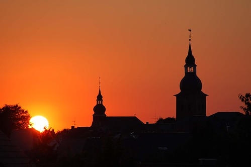 2006-07-18 Sunset Radevormwald by [ henning ]