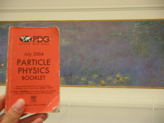 PDG and Monet at l'Orangerie