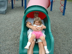 child, outdoor play equipment, fun, people, play, day, playground slide, playground, toddler,