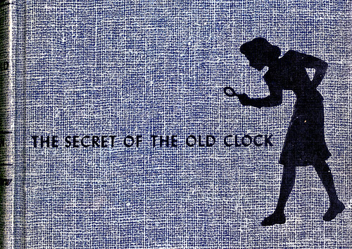 cover:  Nancy Drew--The Secret of the Old Clock * Carolyn Keene