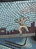 Chicago, Navy Pier, Tile Mosaic
