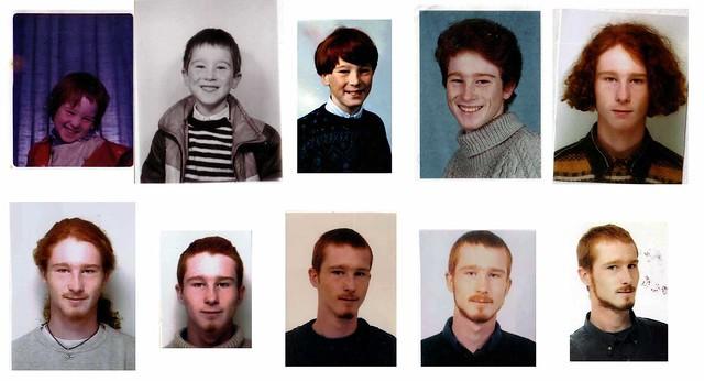histoire d'un roux à travers le temps // redhead story
