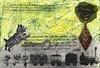 august scavenger hunt postcard