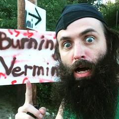 Playing some music at #BurningVermin
