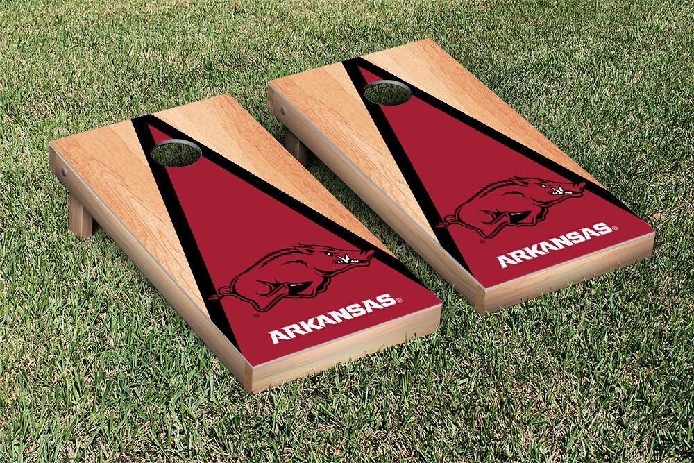 Arkansas Razorbacks Hardcourt Triangle Version