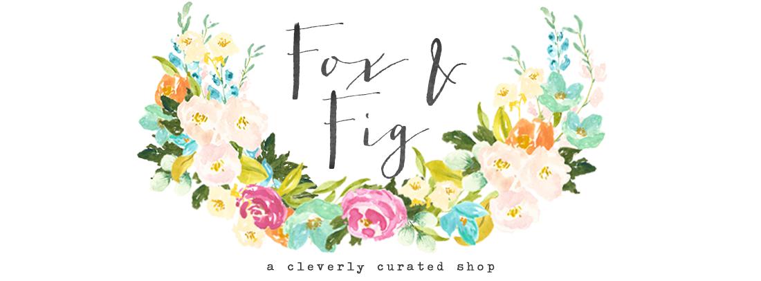 Fox & Fig Blog banner