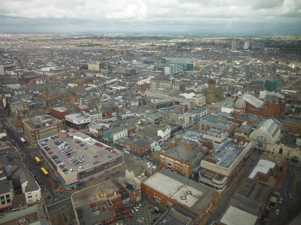 View From Blackpool Tower 2