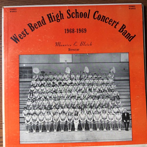 West Bend High School Concert Band record cover
