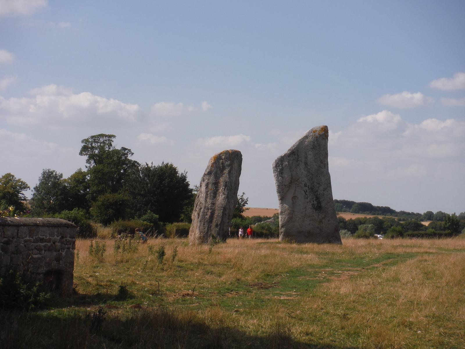 Avebury Standing Stones, NE quartile SWC Walk 255 Pewsey or Marlborough Circular via Avebury