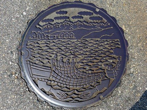Namerikawa Toyama, manhole cover (富山県滑川市のマンホール)
