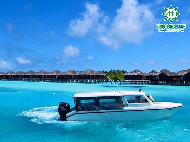 du lịch Maldives Hừng Đông Xanh