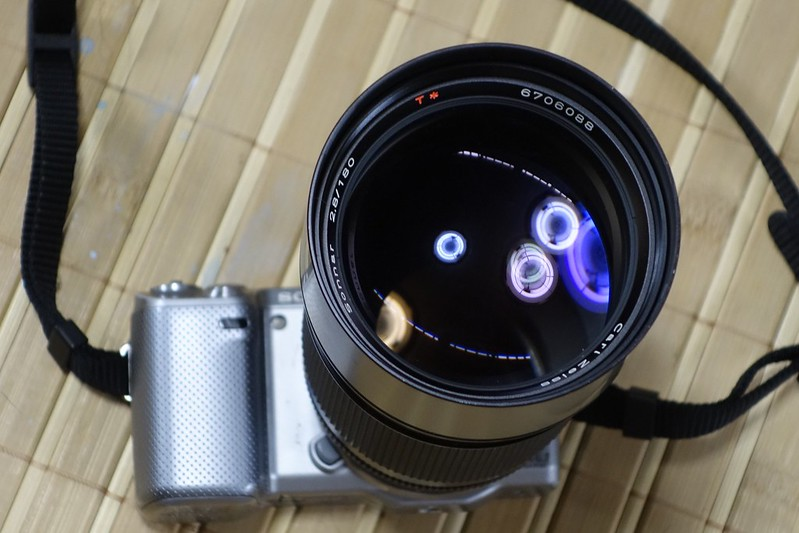 Carl Zeiss Sonnar 180mm F2.8 AEG その1