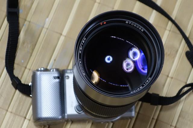 Carl Zeiss Sonnar 180mm F2.8 AEG その1