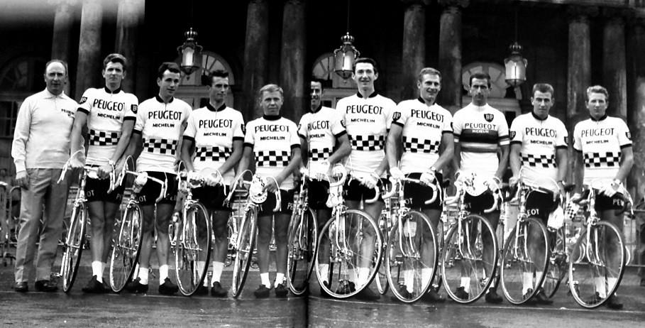 cea40e233 ... 1966 TDF Equipe Peugeot Tour de France