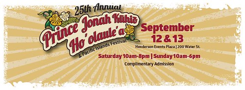 September 12-13 25th Annual Prince Jonah Kuhio Ho'olaule'a and Pacific Islands Festival #LocalTravel #rtcities @cityofhenderson @transitionsabroad