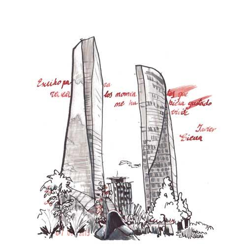 3 torres