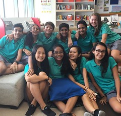 Spent a part of my lunch break with some very special people. I am glad I know each and everyone of you. Big love from Ms Pau. Thanks for all your help. #7Pgu #2014 #learning2 #learningspaces #uwcsea_east