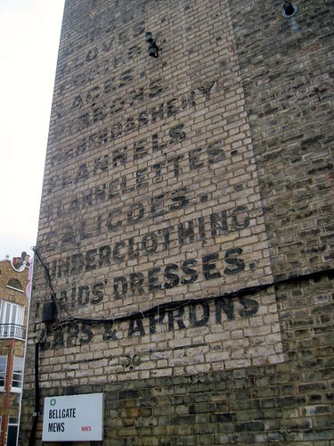 Ghost Sign on York Rise