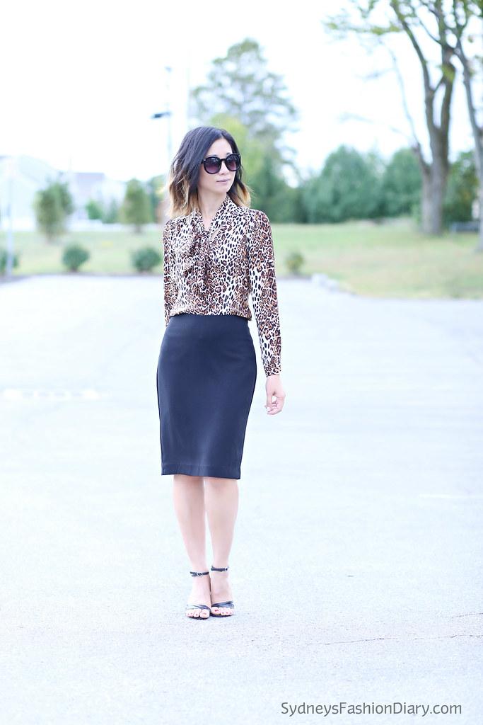 LeopardBlouseBlackSkirt_SydneysFashionDiary