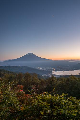 autumn sunset october fuji jp 日本 crazyshin 河口湖 月 2015 lakekawaguchi 富士 山梨県 南都留郡 afsnikkor2470mmf28ged 西川林道 nikond4s 20151018ds18695