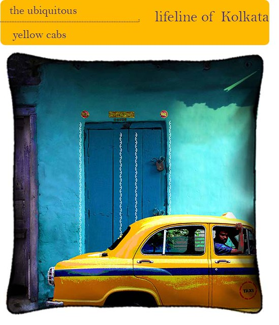yellow cabs of kolkata