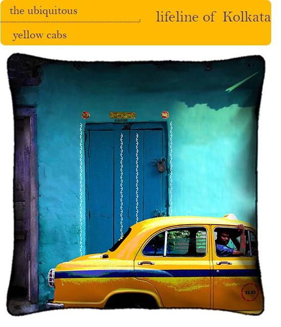 yellow cabs of kolkata