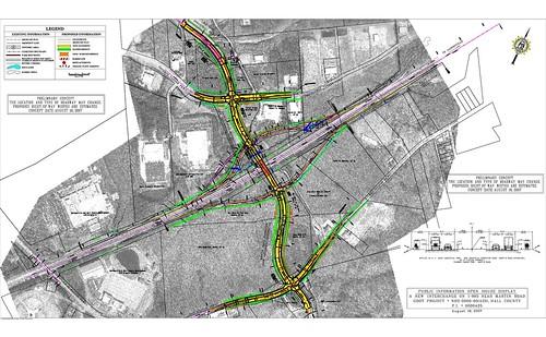 I-985@Martin Rd-New Interchange-Hall County