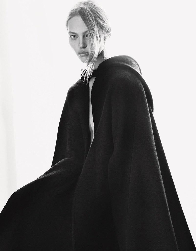 Саша Пивоварова — Фотосессия для «Porter» 2015 – 9