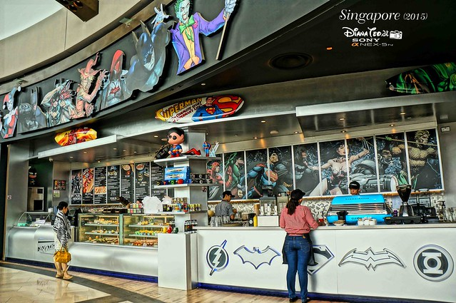DC Comics Super Heroes Cafe Singapore 02