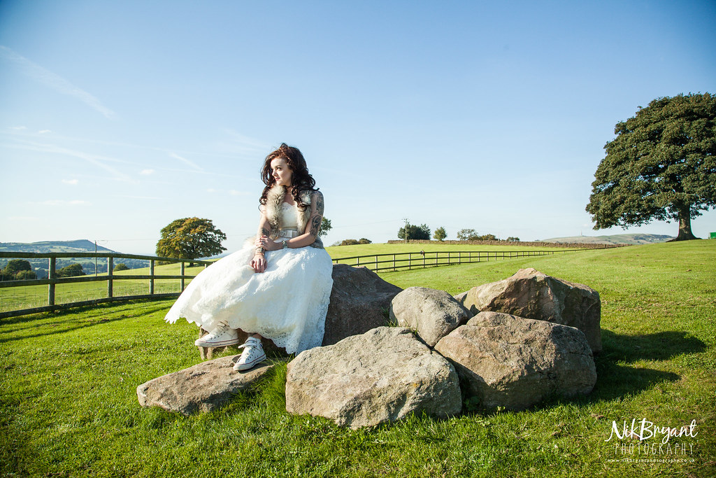 Heaton House Bridal Shoot