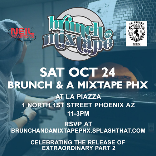 10/24 - Sat - Brunch & A Mixtape PHX