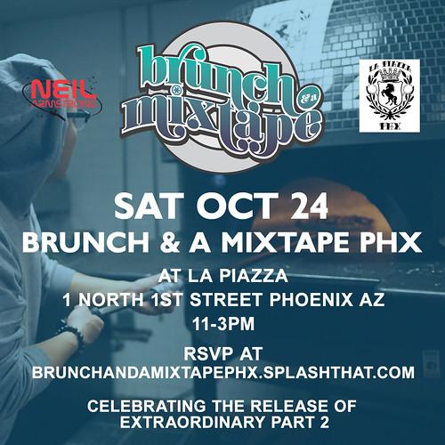 10/24 - Sat - Brunch & A Mixtape PHX