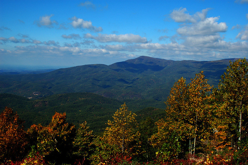 Blue Ridge Afternoon II by J Andrew Flenniken via Flickr Creative Commons licence