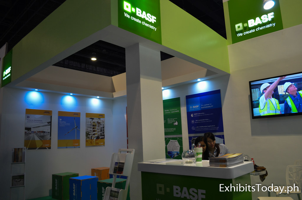 O-BASF Exhibit Booth