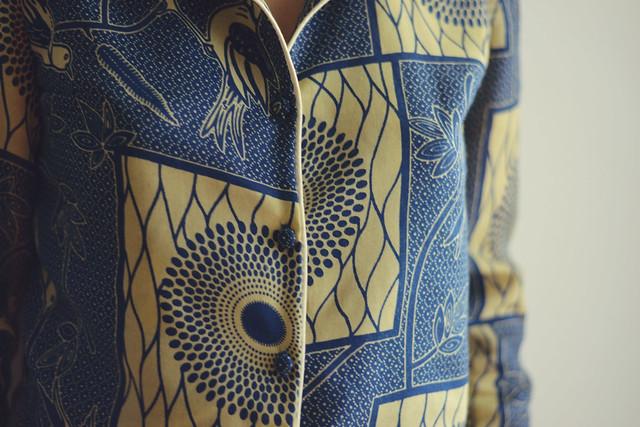 Pyjama bleu Wax
