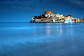 Peñiscola Blue Hour