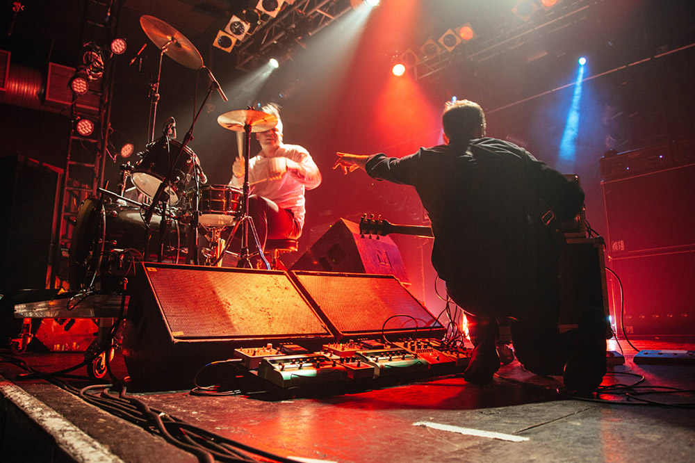 Battles @ Electric Ballroom, London 28/10/15